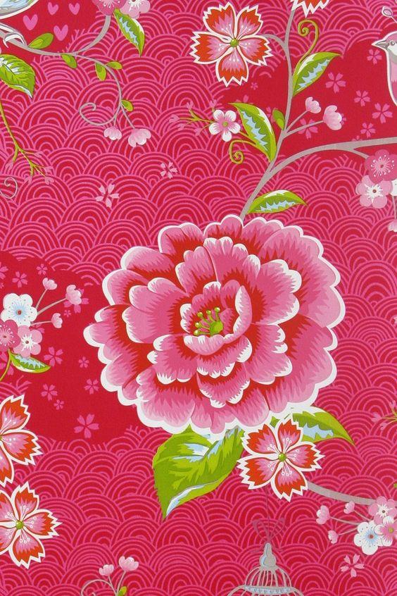 Pip Tapete Birds In Paradise Khaki : Pink Bird of Paradise Wallpaper