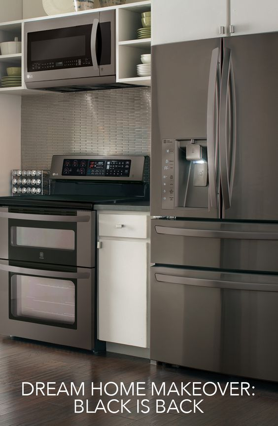 galley kitchens with stainless steel appliances the next thing in kitchen inspiration is the samsung black