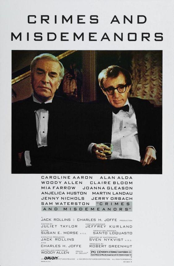Delitos y faltas [Vídeo (DVD)] / escrita y dirigida por Woody Allen