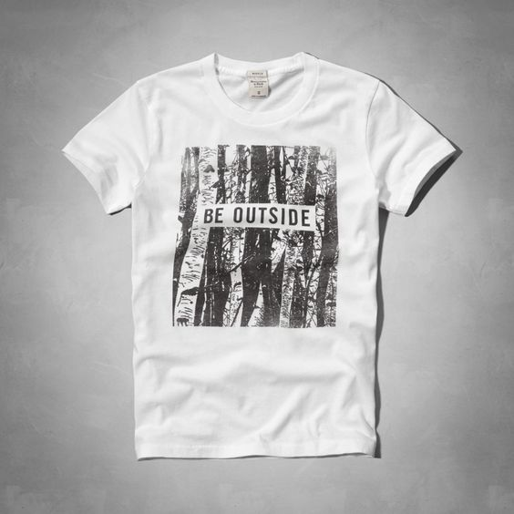 Be Outside Graphic Tee   Abercrombie.com