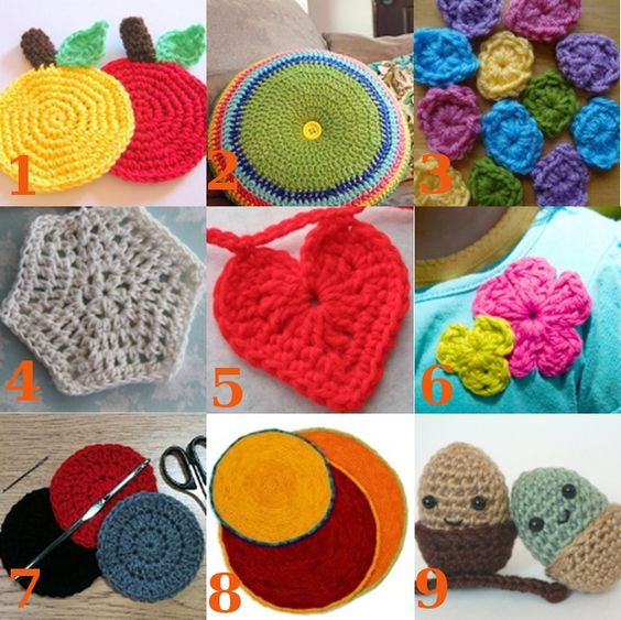 9 #Crochet in the Round Patterns