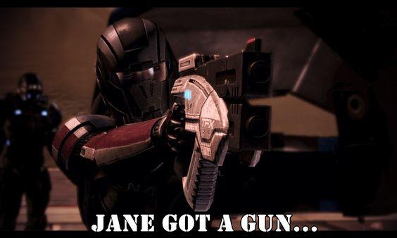 Screenshot of my game Mass Effect. A tribute to  Aerosmith, Natalie Portman and Ewan McGregor.