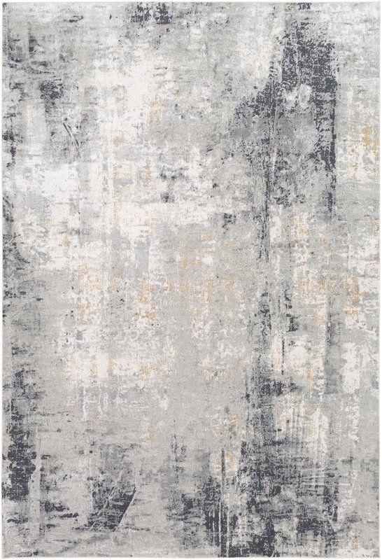 Anwen Abstract Eggplant Area Rug In 2021 Light Grey Rug Modern Area Rugs Contemporary Area Rugs