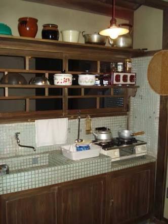 キッチン レトロ の画像検索結果 収納 アイデア キッチンデザイン