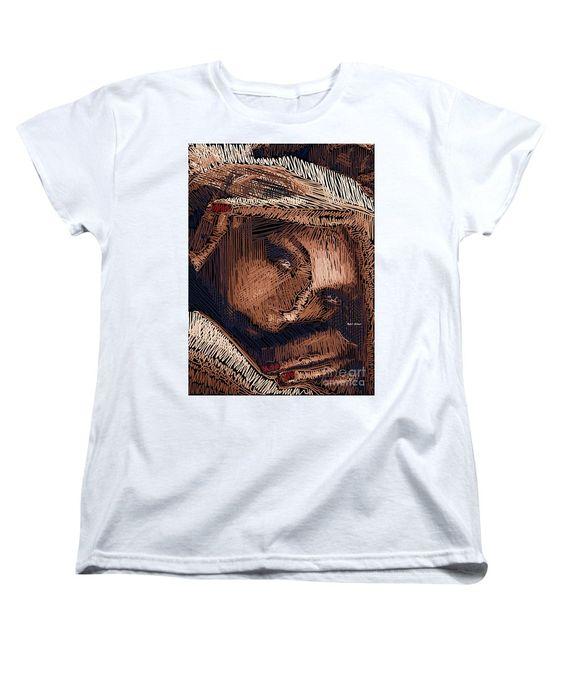 Women's T-Shirt (Standard Cut) - Studio Portrait In Pencil 59