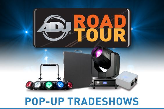 ADJ Road Tour Announced - See New Products from LDI 2016