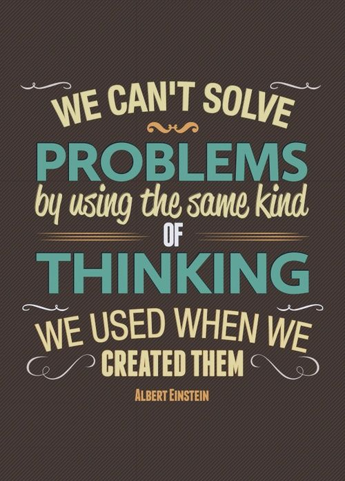 Creativity in problem solving