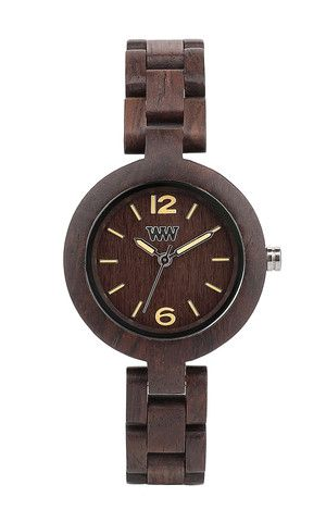 Wooden watches : Mimosa Chocolate by weWood time pieces.