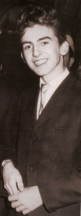 George Harrison, so young.