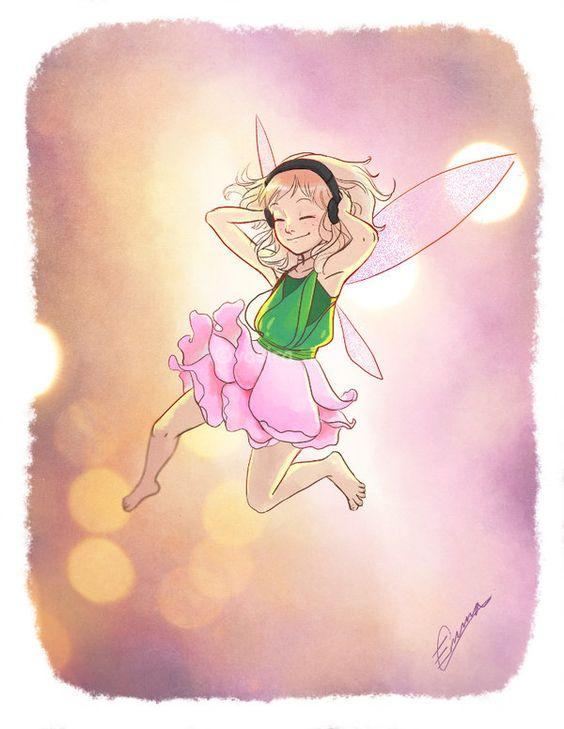 Rose Fairy by vasira.deviantart.com on @deviantART