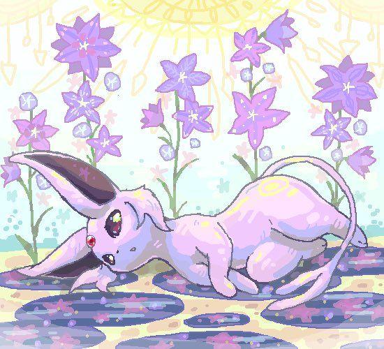 Cute lil' espeon