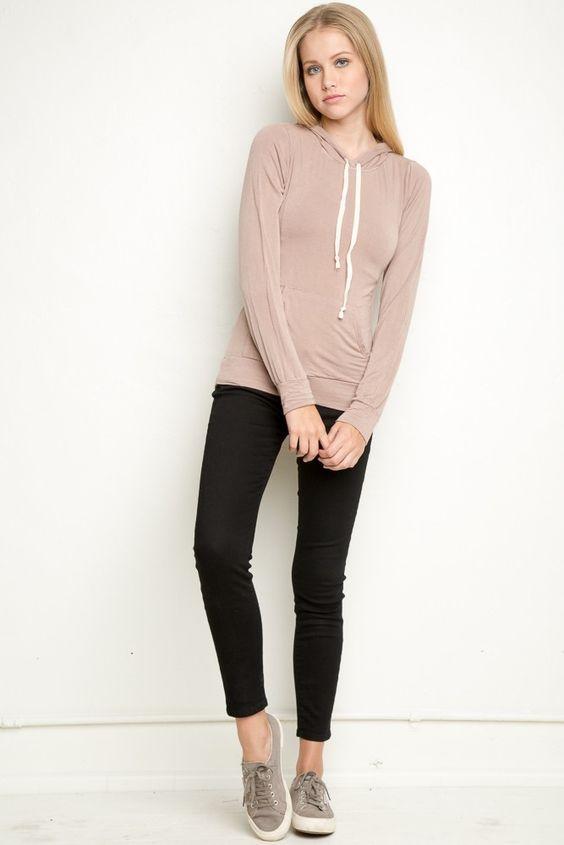 Brandy ♥ Melville   Danni Hoodie - Clothing