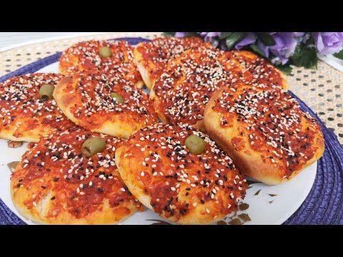 فطائر دبس فليفلة او محمرة بعجينة اسفنجية طرية ولذيذة Youtube Cooking Recipes Cooking Recipes