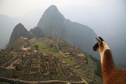 Machu Pichu, Peru, South America    http://www.100placestovisit.com/machu-pichu-peru-south-america/ #MachuPichu #Peru #SouthAmerica  #travel #seebeforeyoudie  #bucketlist #100places2visit