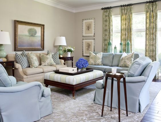 neutral living room paint color