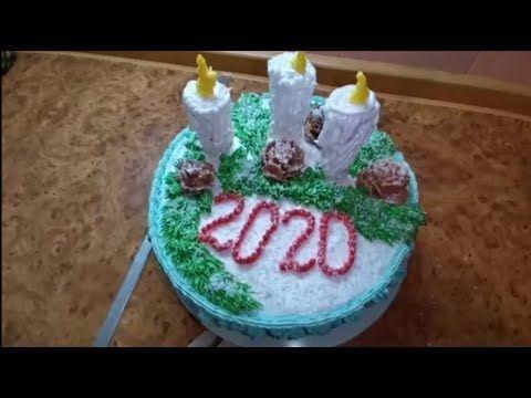 Tortlar 2020 Ci Il Ucun Yeni Il Tortu Youtube Prazdnichnye Svechi Ukrasheniya Ukrashenie Tortov