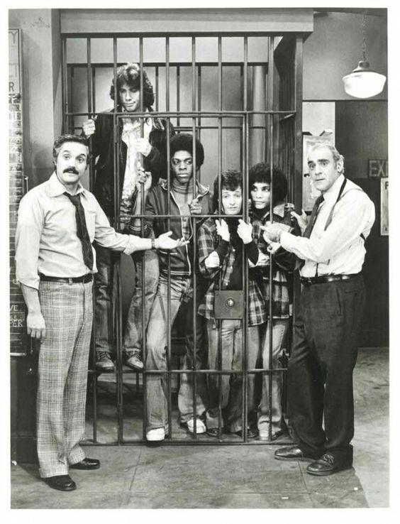 The 12th precinct locks up the Sweathogs.