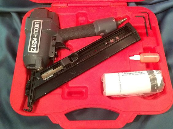 Craftsman In Line Angle Finish Nailer With Case Model 351 184420 Finish Nailer Nailer Craftsman