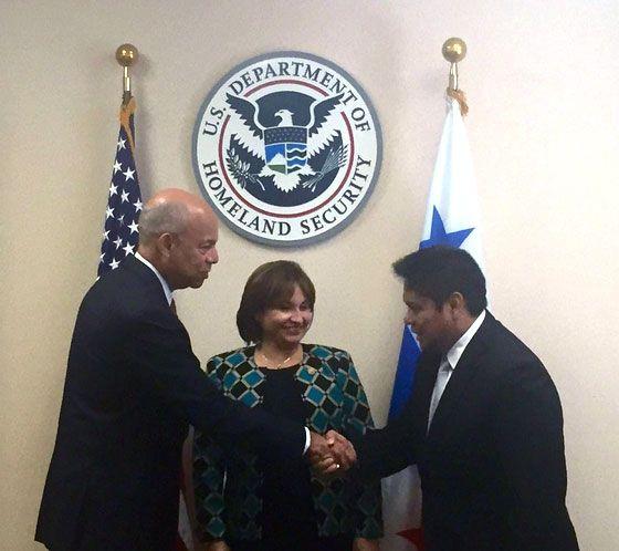 Dialogan Panamá y Estados Unidos sobre migración ilegal