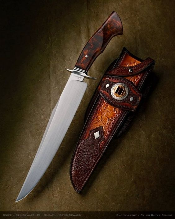 BOWIES and FIGHTERS | Ben Seward Knives: