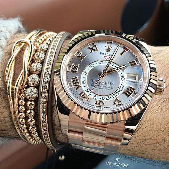"""Часы Rolex Sky-сельскому жителю х Анил Arjandas браслеты драгоценности!<промежуток класс=""""смайлики emoji231a""""></span>являются️<промежуток класс=""""смайлики emoji1f525"""">на</span> отличное фото @AnilArjandas ..."""