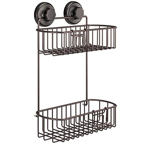 Hasko Accessories Shower Caddy With Suction Cups 304 Stainless