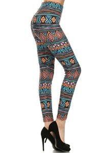 Aztec Printed Leggings