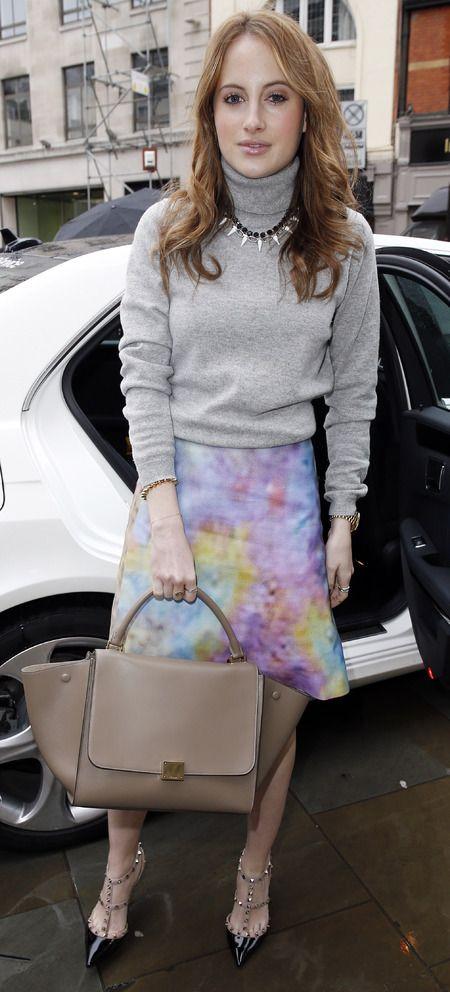 celine bag fake - MIC's Rosie Fortescue's Celine Trapeze bag. www.handbag.com ...