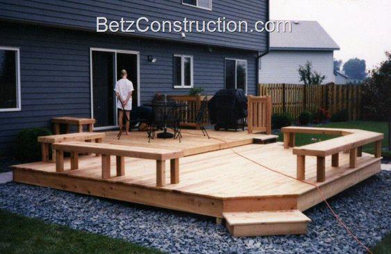 Betz Construction Exterior Decking - Blaine, Minnesota Decks and ...
