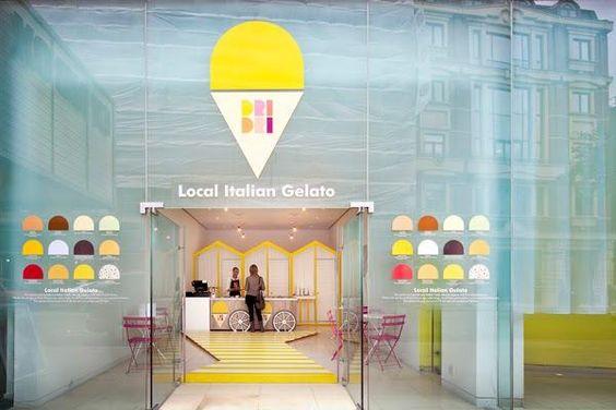 Dri Dri, una heladería en Londres con un diseño exquisito