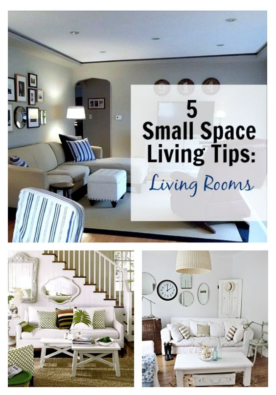5 Tips for Small Space Living: Living Room - CHATFIELD COURT