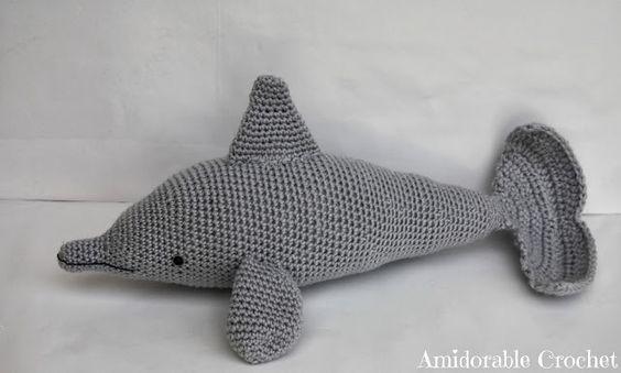 Tutorial Delfin Amigurumi : Dolphins, Crochet and Patterns on Pinterest