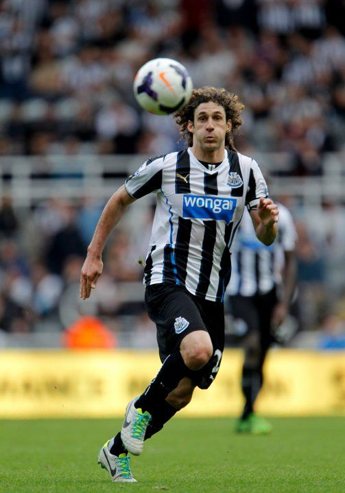 ~ Fabricio Coloccini of Newcastle United ~