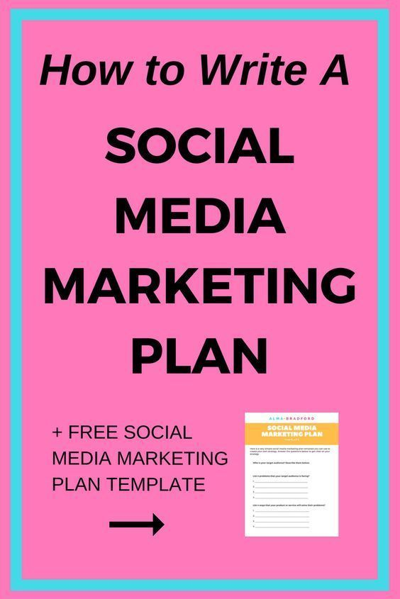 How To Create A Social Media Marketing Plan Alma Bradford In 2020 Social Media Marketing Plan Social Media Marketing Business Marketing Strategy Social Media