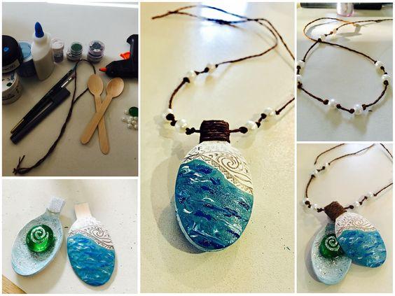 DIY Moana Necklace