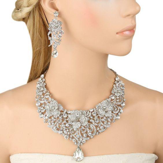 Jon Richard Discount Voucher Code In 2020 Teardrop Necklace Necklace Earring Set Necklace