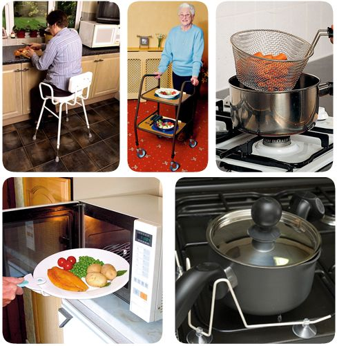 Adaptive Kitchen Equipment For Stroke Patients