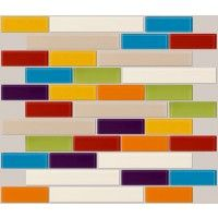 Fruit Basket Tile Backsplash