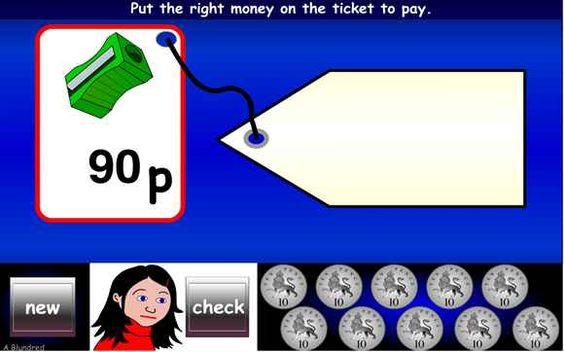 British (UK) money worksheets (pound & pence)