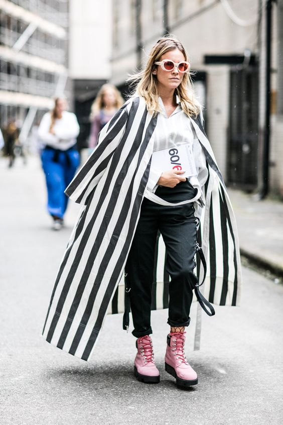 Street style à la Fashion Week printemps-été 2017 de Londres