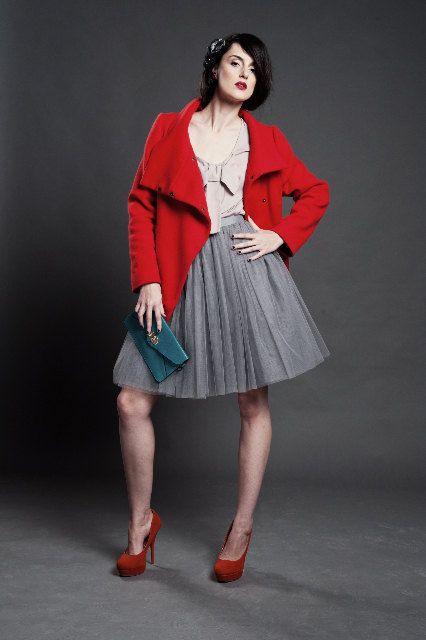 Grey tutu tulle skirt, petitcoat, adult tutu skirt, high quality , women. €100.00, via Etsy.