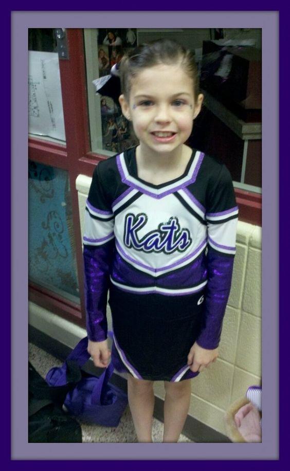 Congrats to Amanda's adorable cheerleader.