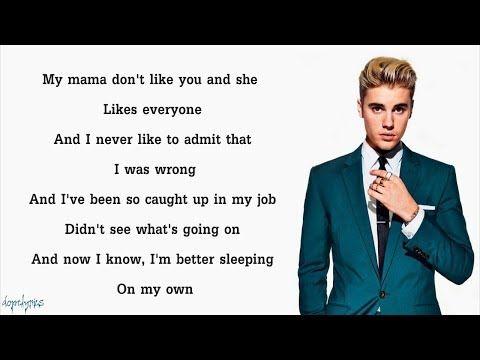 Justin Bieber Love Yourself Lyrics Youtube Love Yourself