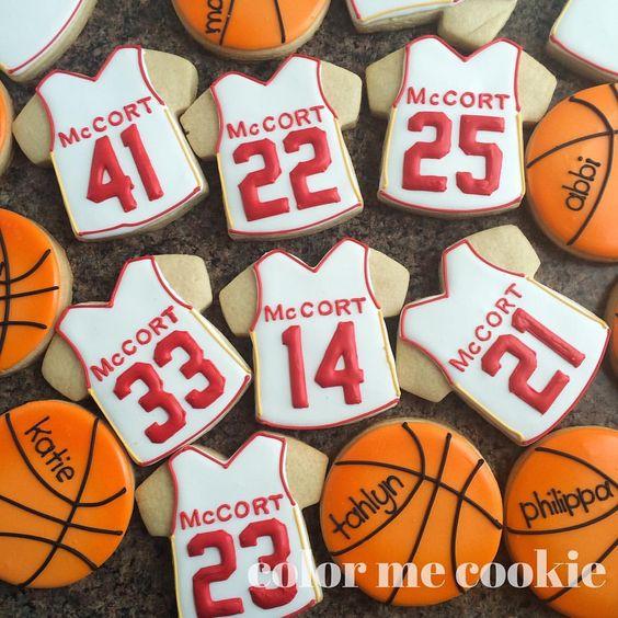 Senior night at McCort last night. Congratulations to the senior girls. Hope you enjoy your cookies. #basketball #seniornight #cookies #cookiegifts #cookielove #decoratedcookies #sugarcookies #royalicing #royalicingcookies #cookiesofinstagram #colormecookie