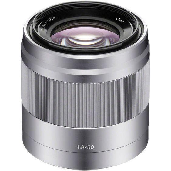 photo Sony 50mm f/1.8 OSS Argent pour Nex 248.89