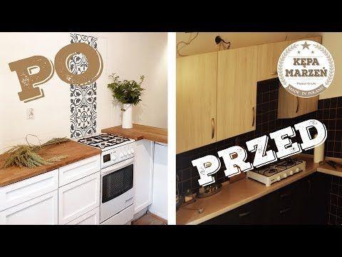 Ep 14 Metamorfoza Kuchni Cz 1 Drewniane Blaty I Biale Szafki Domek Letniskowy Chatka Marzen Kepamarzen Pl Home Kitchen