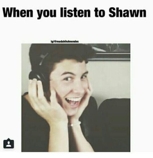 That's the face I get when I hear his song