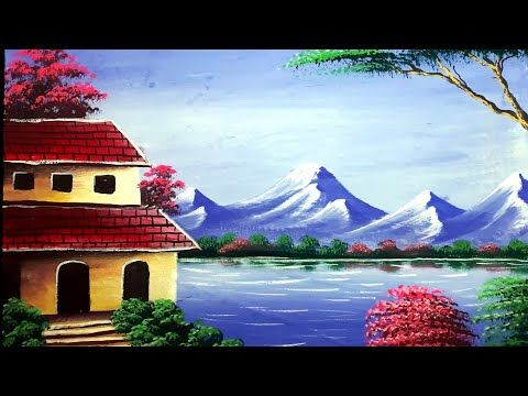 Drawing And Painting Of Nature Beautiful Nature Senary Painting