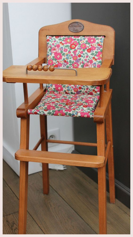 Encore une chaise haute ma jolie tribu couture housses for Couture housse de chaise