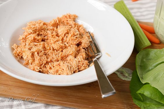 buffalo chicken to add to...  buff chick dip, buff chick grilled cheese, lettuce  wraps, etc.